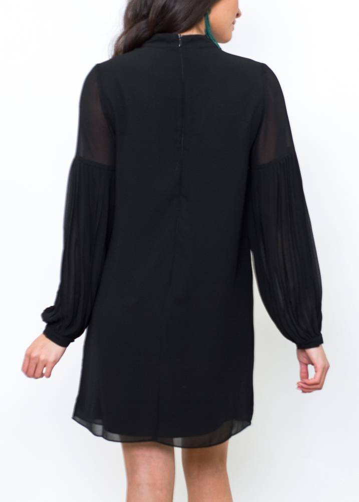 SADIE CHOKER NECK DRESS