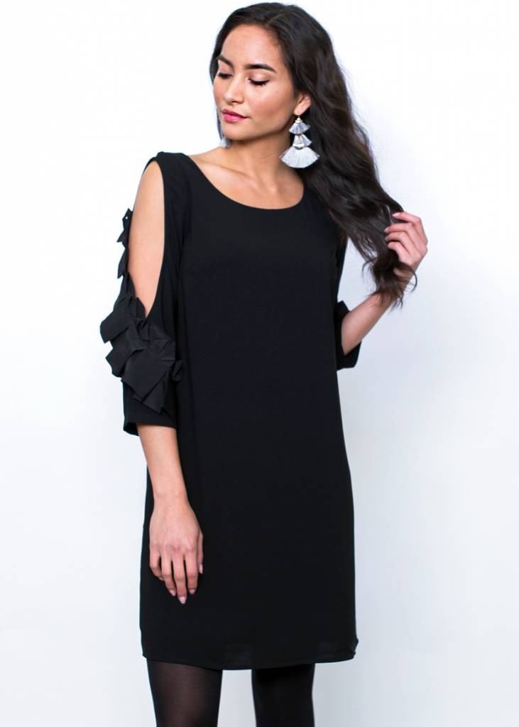 CANYON COLD SHOULDER DRESS