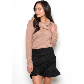 KATRINA CHUNKY COWL NECK SWEATER