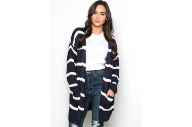 CLINTON STRIPED CARDIGAN
