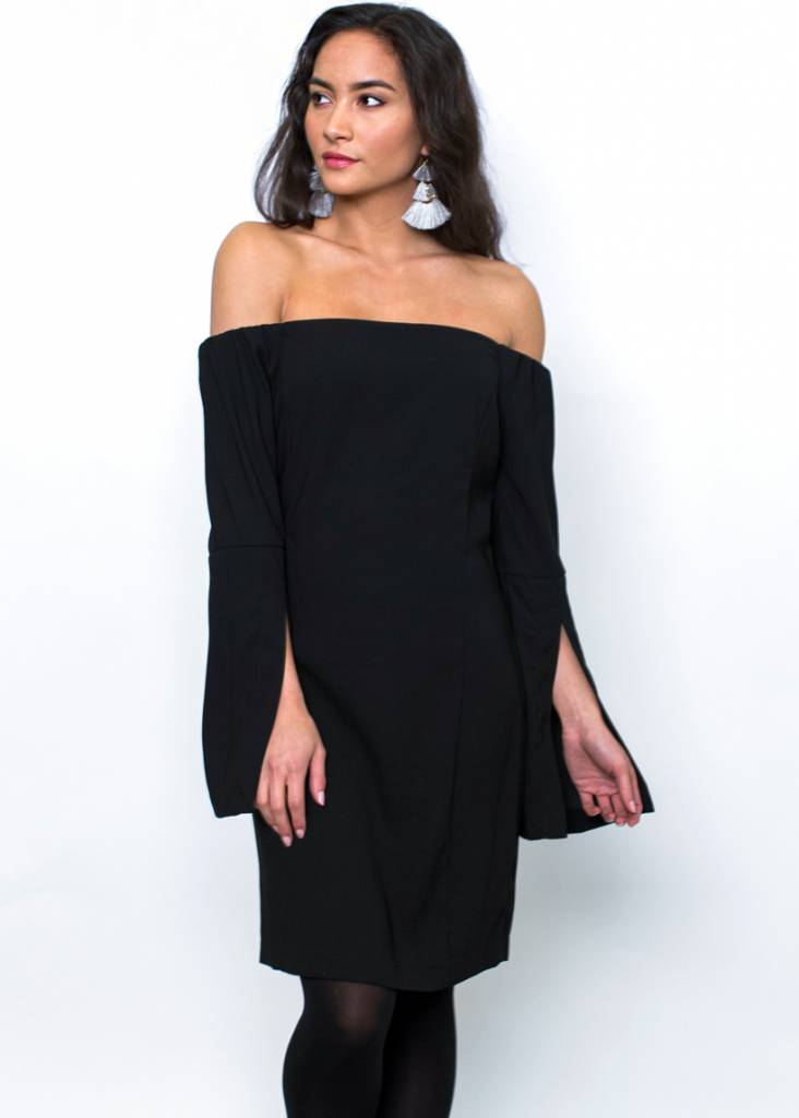 LILLIANA OFF THE SHOULDER DRESS