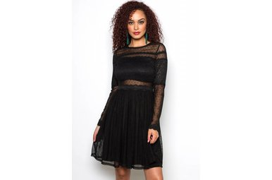 POSH LONG SLEEVE LACE DRESS
