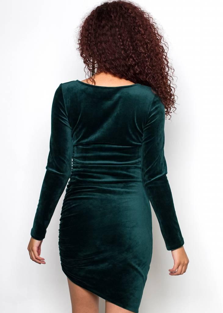 LEONA VELVET DRESS