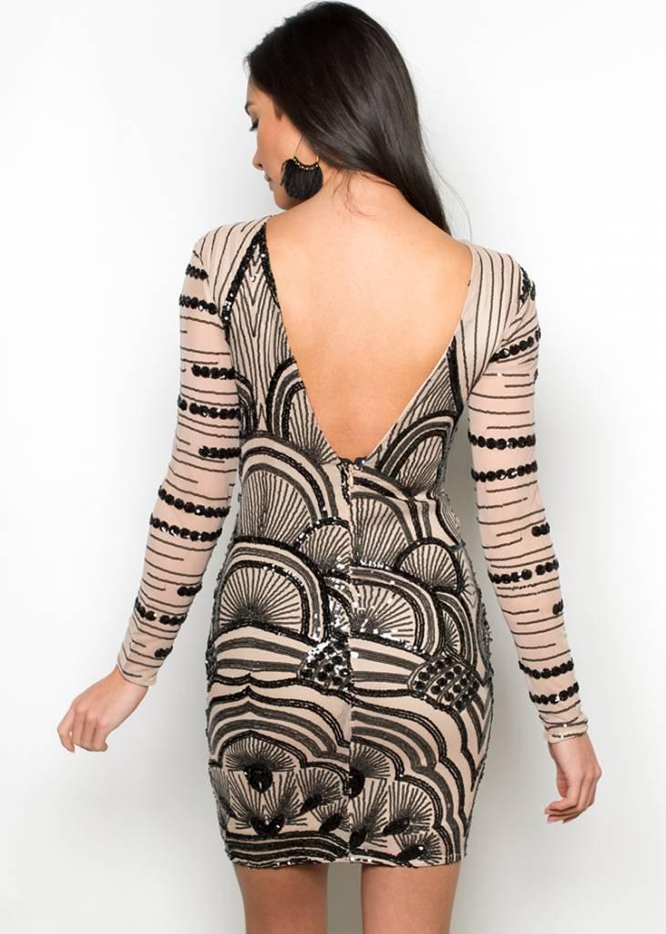 SAVANNAH SEQUIN DRESS