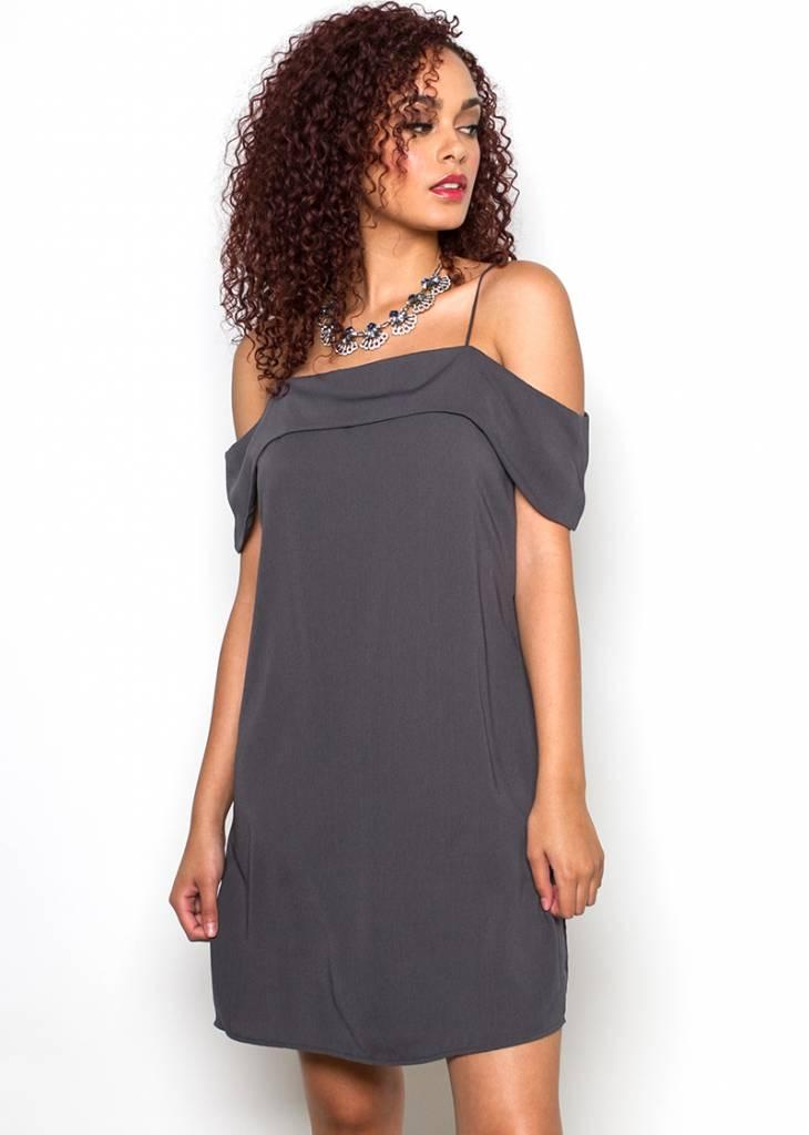OCTAVIA COLD SHOULDER DRESS