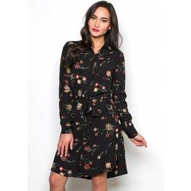 NATALIE FLORAL SHIRT DRESS