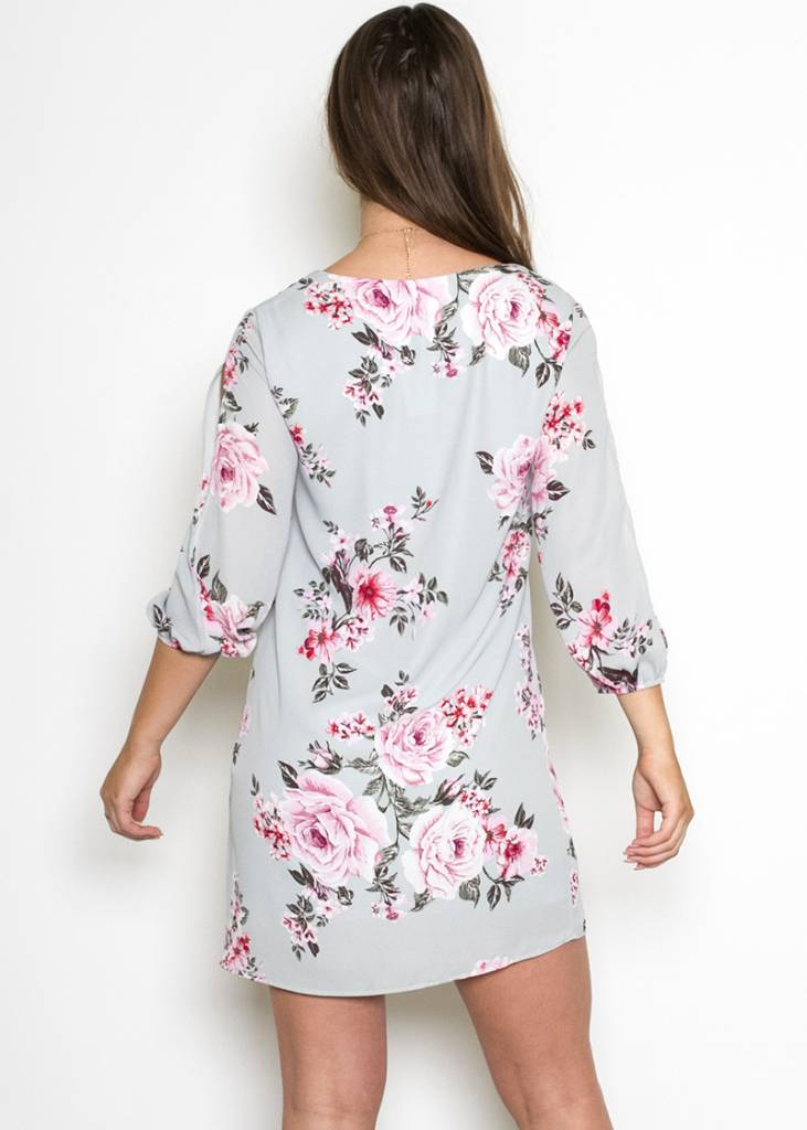 SIMONE FLORAL SHIFT DRESS