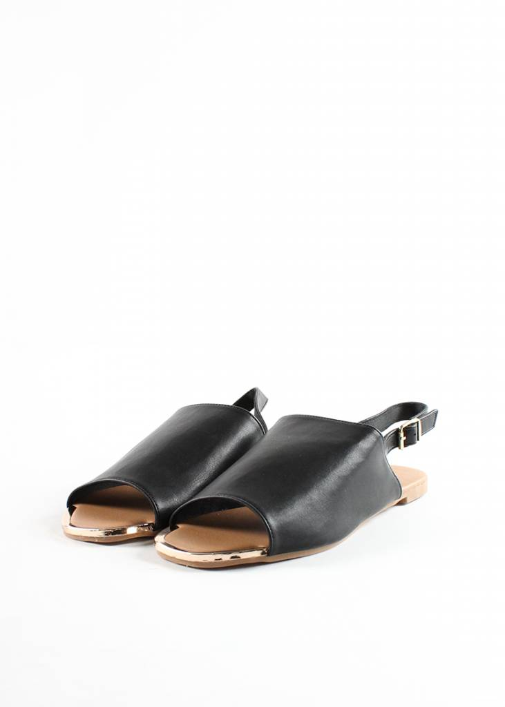 KEYS LEATHER SANDALS