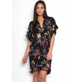 LEILA FLORAL SHIRT DRESS
