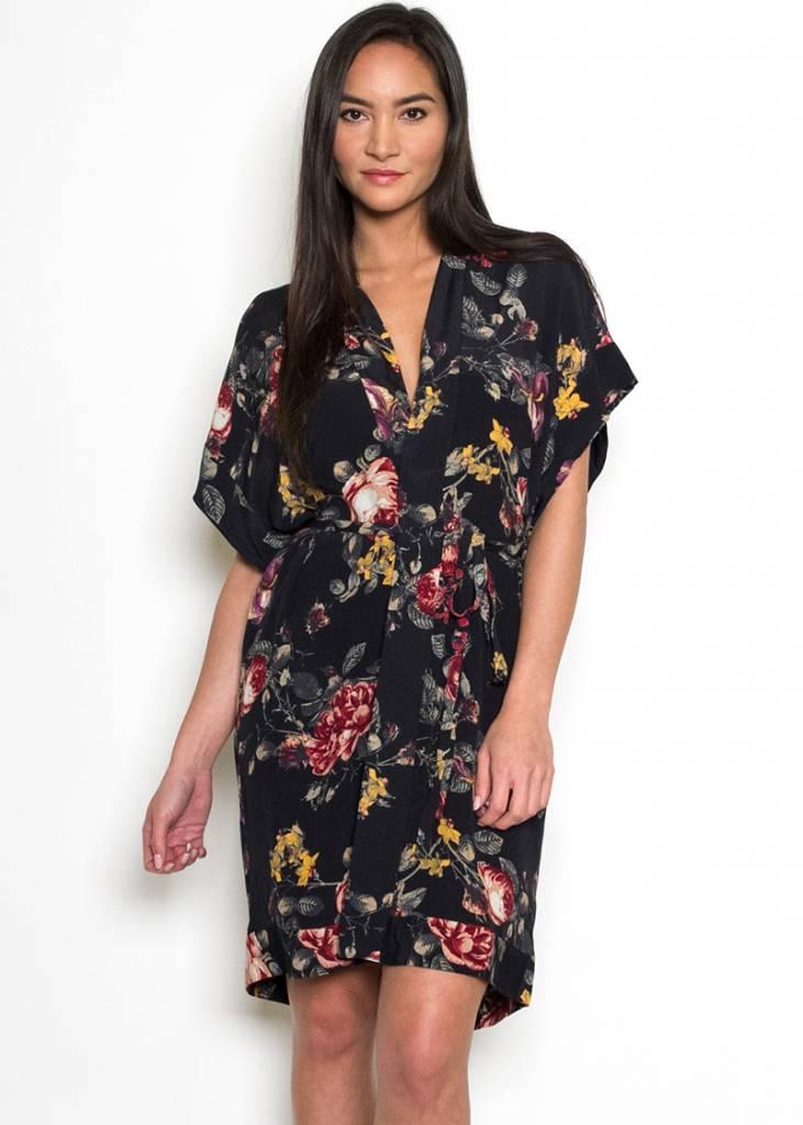 LEILA FLORAL SHIRT DRESS