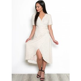 VIVIENNE MIDI WRAP DRESS