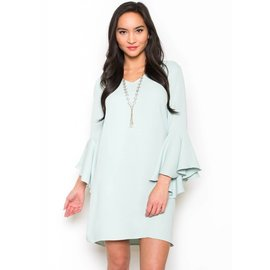 LENNOX BELL SLEEVE DRESS