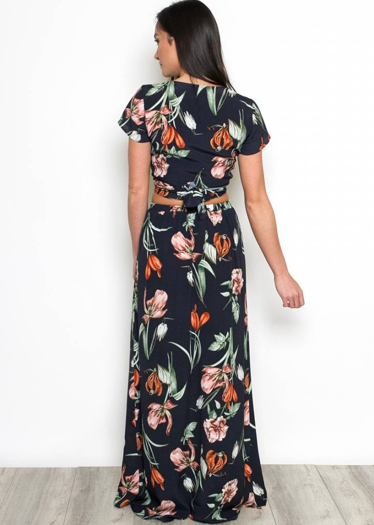 BLAIR FLORAL MAXI SKIRT