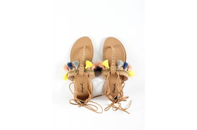 ARCHER EMBELLISHED SANDALS