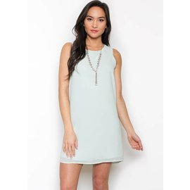 ANALISE SLEEVELESS SHIFT DRESS