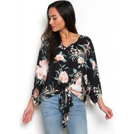 CALLIE FLORAL TOP