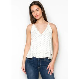 CELESTE POLKA DOT TANK TOP