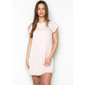 HOLLAND SILKY SHIFT DRESS