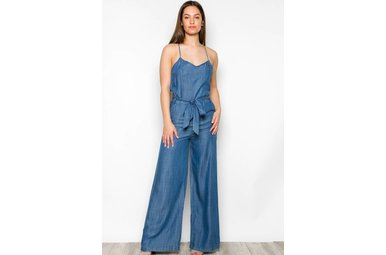 ALYSON CHAMBRAY JUMPSUIT
