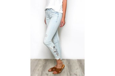 HARLOW EMBROIDERED JEANS
