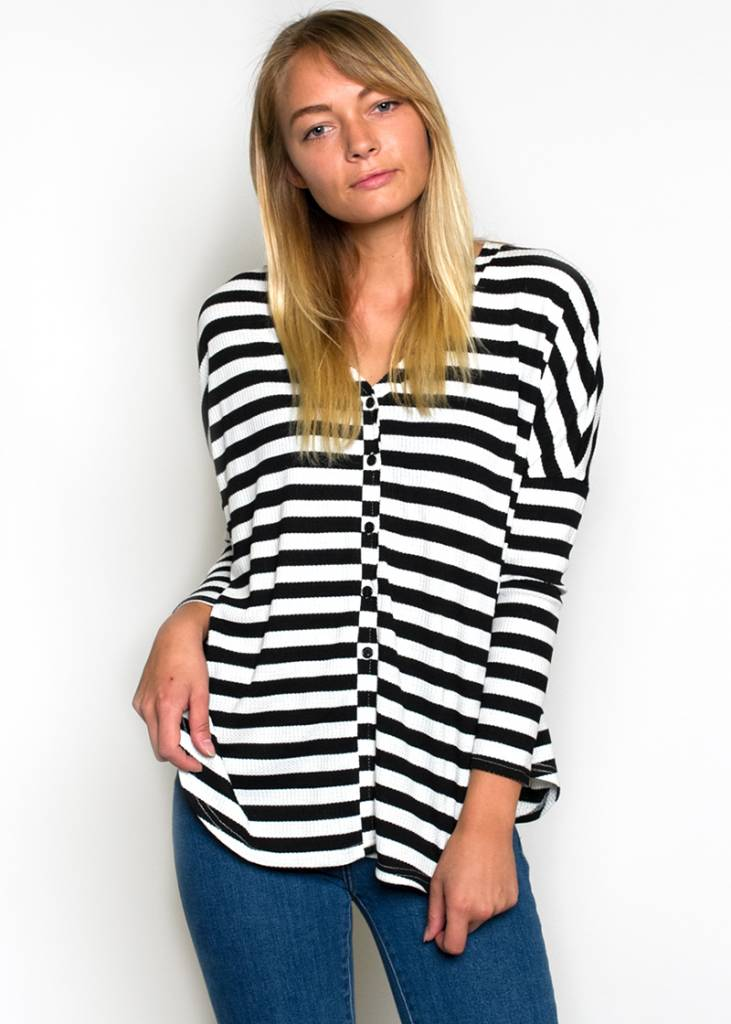 HAYES STRIPED TOP