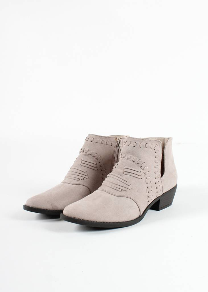 LANCASTER TAUPE BOOTIES