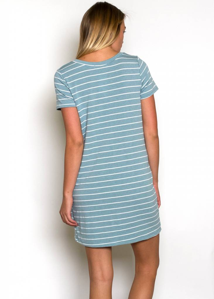TILLY STRIPED T-SHIRT DRESS