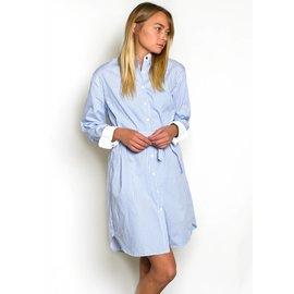 NORA STRIPED SHIRT DRESS