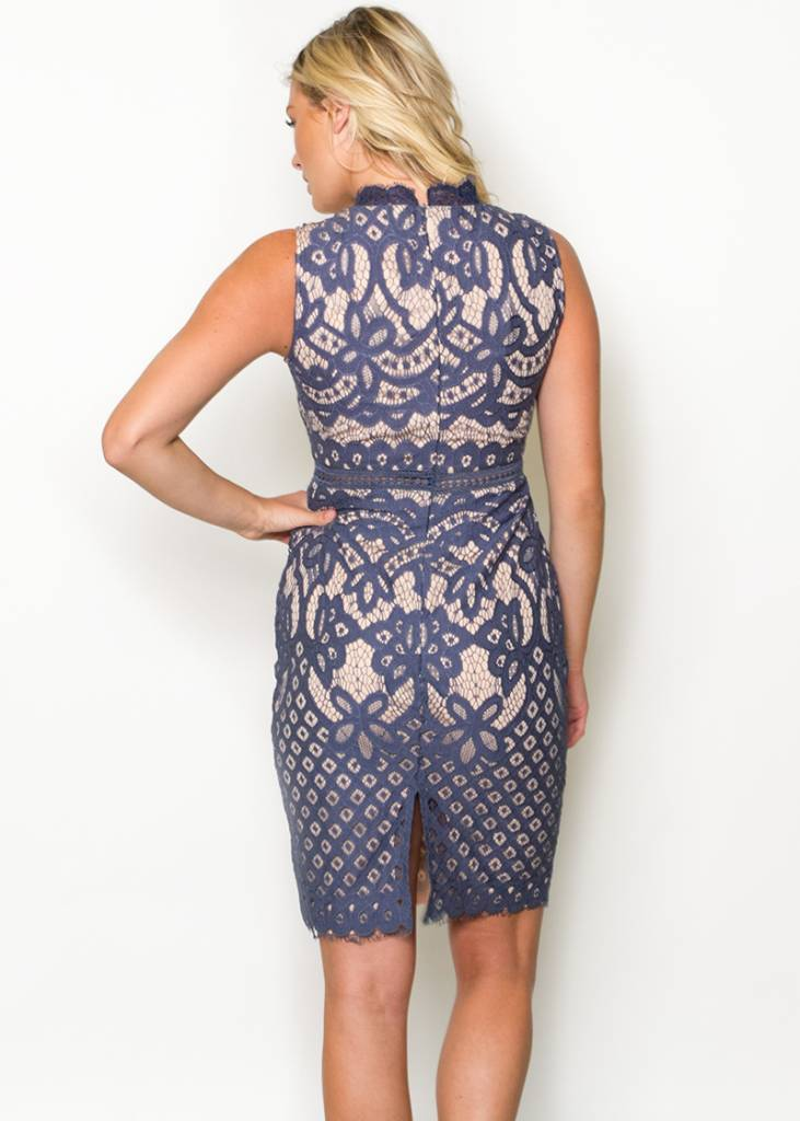 LADYBIRD LACE DRESS