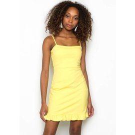 LUCY YELLOW DRESS