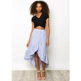 SOPHIA STRIPED MAXI SKIRT