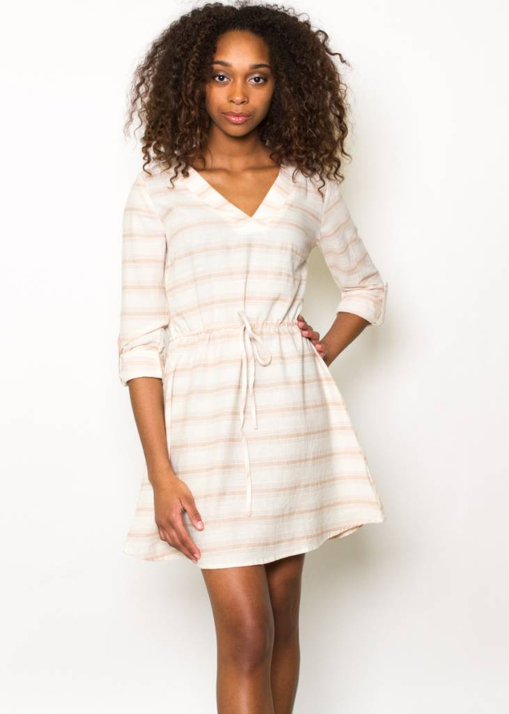 ROWAN STRIPED TUNIC DRESS