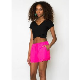 KARINA SCALLOPED SHORTS