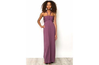 HARRIET PLUM MAXI DRESS