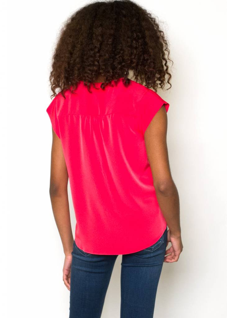 ROXY RED TOP