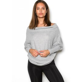 CARLSON GREY BOATNECK SWEATSHIRT
