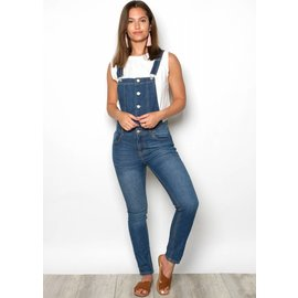 LIBERTY STRAIGHT LEG DENIM OVERALLS