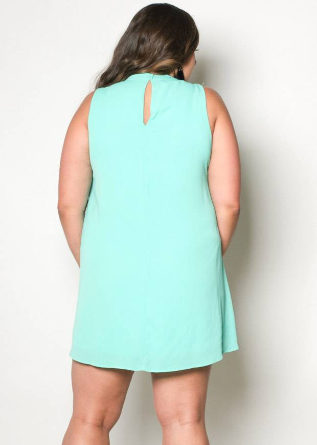 ERICA SLEEVELESS MINI DRESS