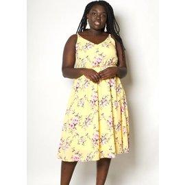 NOEL YELLOW FLORAL DRESS