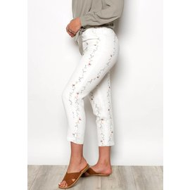 DELILAH WHITE FLORAL BOTTOMS