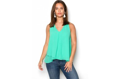 GIANA GREEN TANK TOP