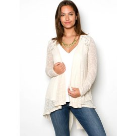 BRENNA LIGHTWEIGHT KNIT CARDIGAN