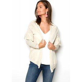 HEATHER LIGHTWEIGHT CARDIGAN