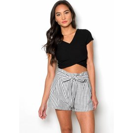 ROSEMARY STRIPED SHORTS