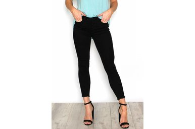 GIGI BUTTON UP SKINNY JEANS