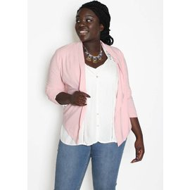 SADIE BLUSH LIGHTWEIGHT BLAZER