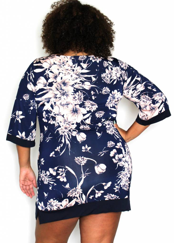 SIENNA NAVY FLORAL DRESS