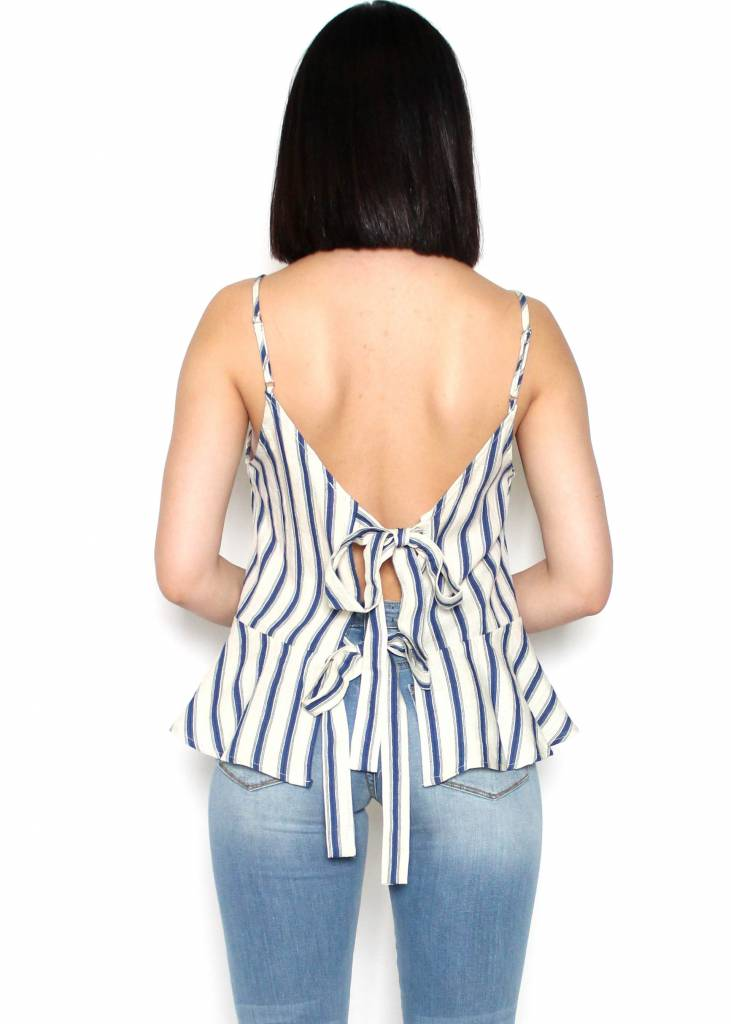 AUGUST STRIPED TANK TOP