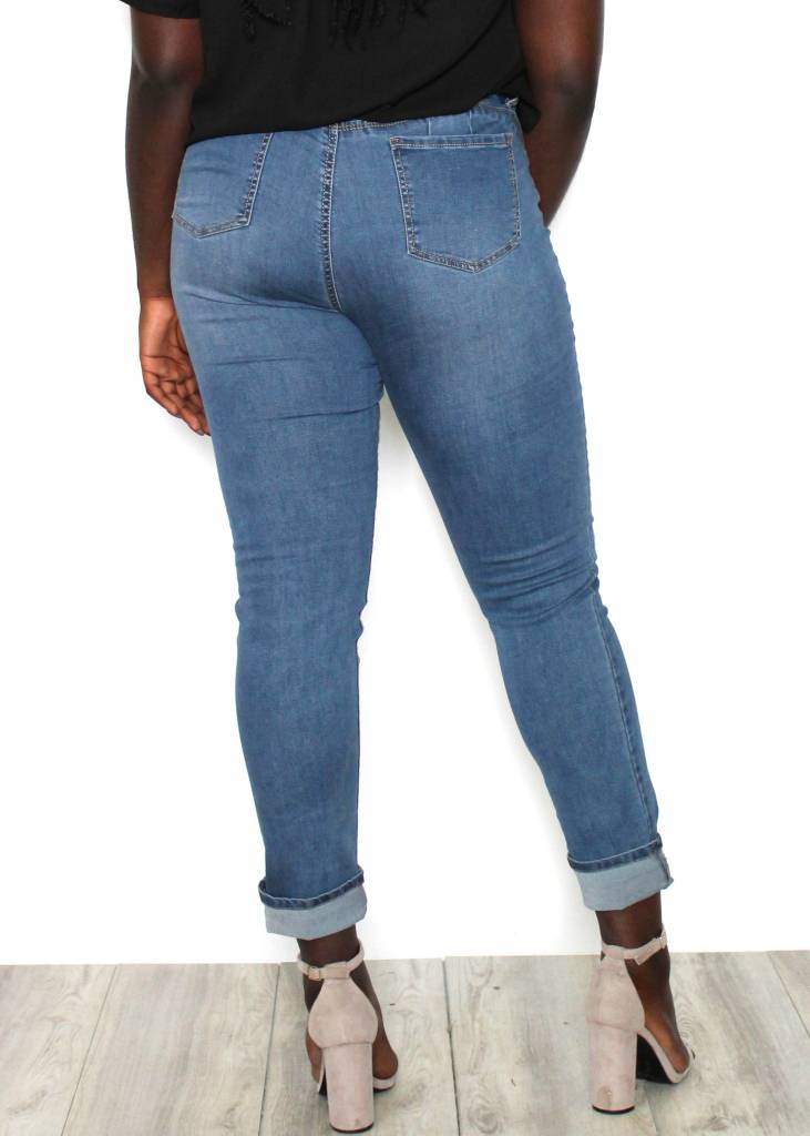 LAUREN HIGH RISE SKINNY JEANS