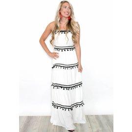 SELENA TASSEL MAXI DRESS